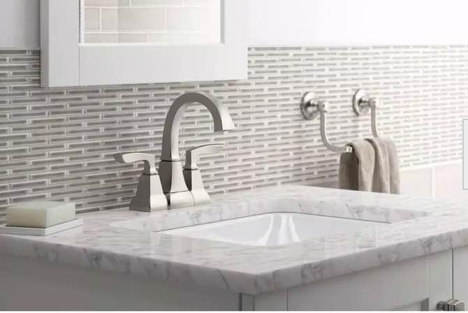 How To Clean Brushed Nickel Bathroom Fixtures
