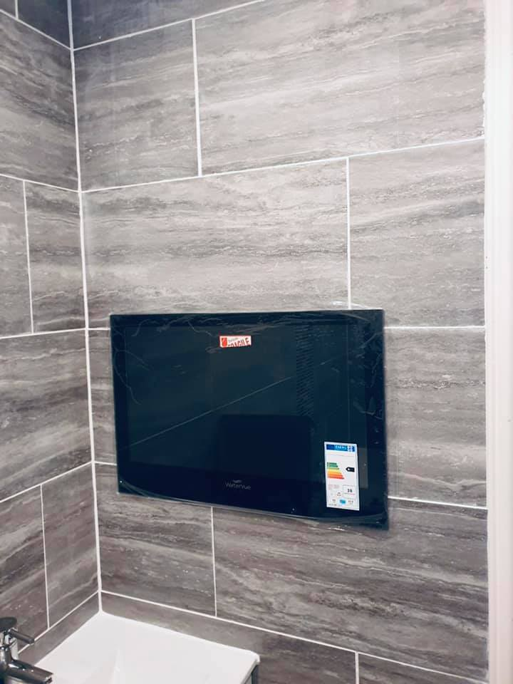 How To Install A TV In Your Bathroom...