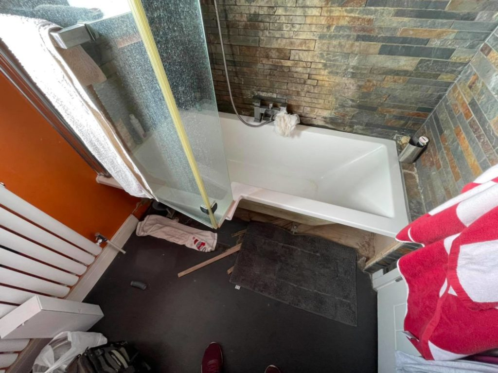 How To Repair Bathroom Wall Water Damage