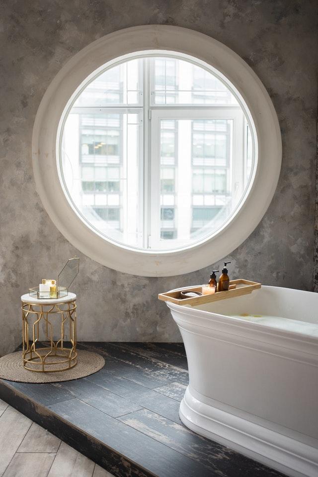 Trendy bathroom remodel in Vacaville California